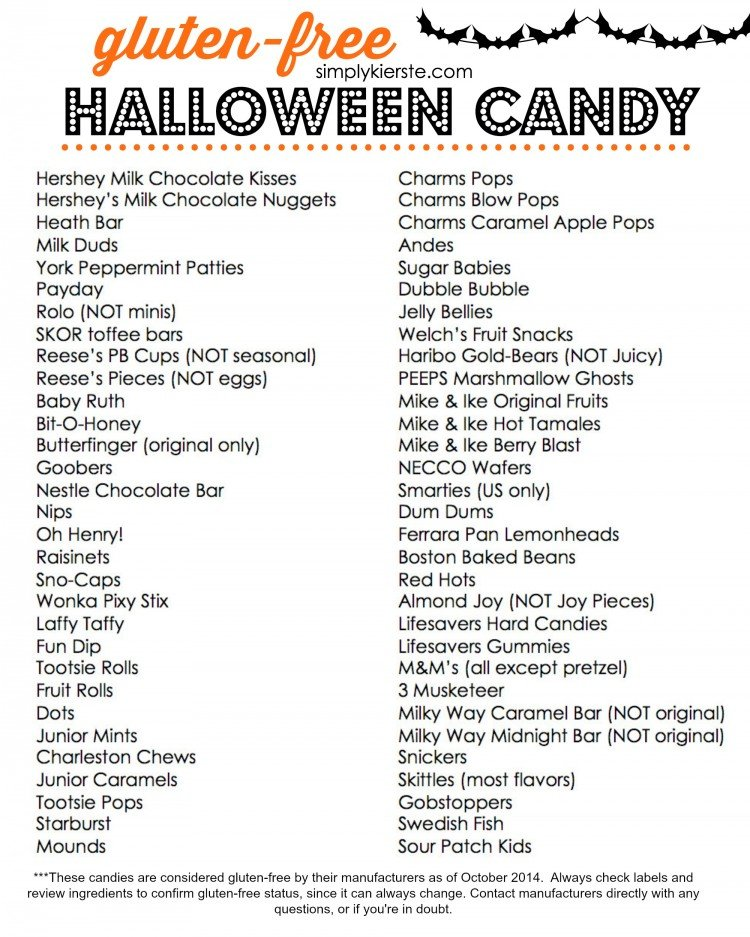 Gluten Free Halloween Candy   oldsaltfarm.com