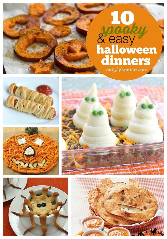 Easy & Spooky Halloween Dinner Ideas | simplykierste.com