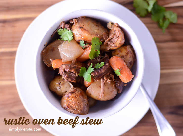 Hearty Oven Beef Stew | simplykierste.com