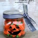 Jack-o-Lantern Treat Jar