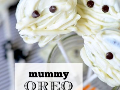 Mummy Oreo Lollipops | simplykierste.com