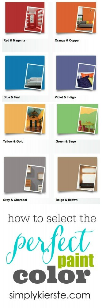 How to Select the Perfect Paint Color | simplykierste.com