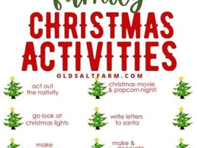 25 Fun & Easy Family Christmas Activities