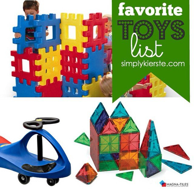 Looking for #giftideasforkids this #Christmas? I put together a list of our #favoritetoys ,plus some on my shopping list this year! #linkinprofile #simplykierste #christmasshopping