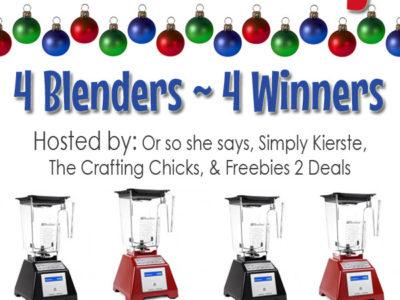 Blendtec Blender Giveaway | simplykierste.com