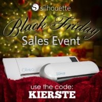 Silhouette Black Friday Event | oldsaltfarm.com