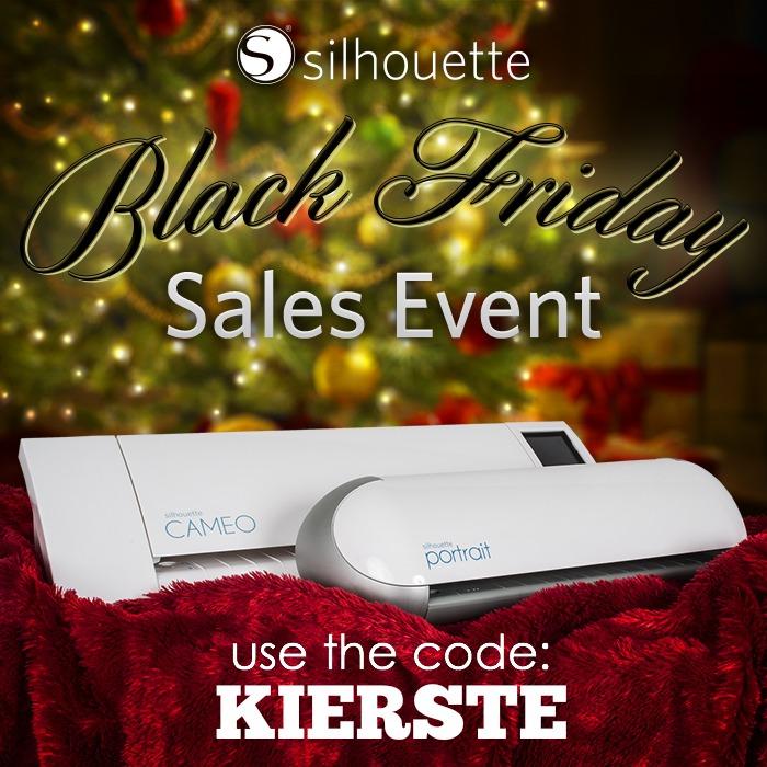 Silhouette Black Friday Event | simplykierste.com