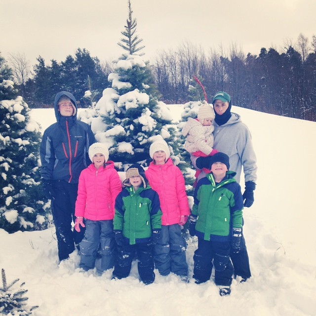 We found our perfect tree! We spent three hours sledding, playing in the snow, and enjoying the breathtaking view. Such a fun day! #ochristmastree #wny #upstatenewyork