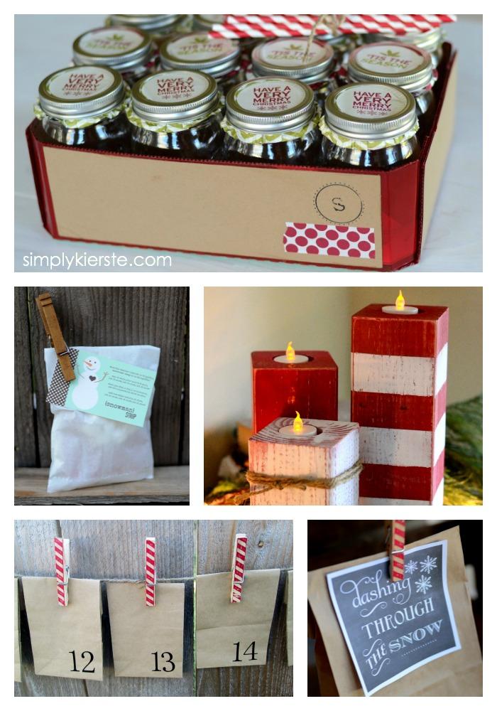 Easy Christmas Projects | oldsaltfarm.com