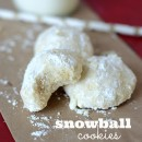 Snowball Cookies | simplykierste.com