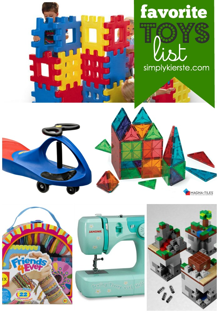 Favorite Toys List | simplykierste.com