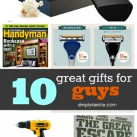 10 Great Gifts for Guys!