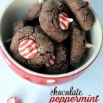 Chocolate Peppermint Blossoms