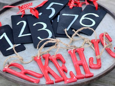 Easy Personalized Christmas Ornaments | simplykierste.com