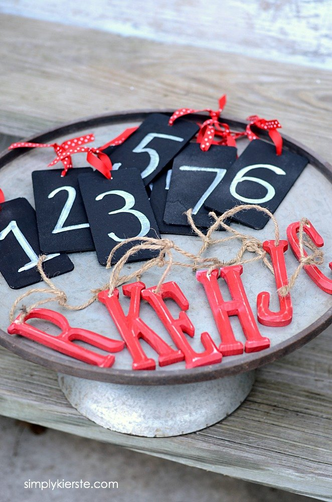 Easy Personalized DIY Christmas Ornaments