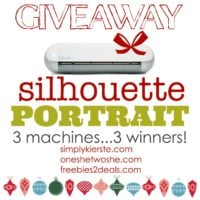 Silhouette Portrait Giveaway!