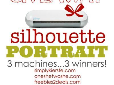 Silhouette Portrait Giveaway | simplykierste.com
