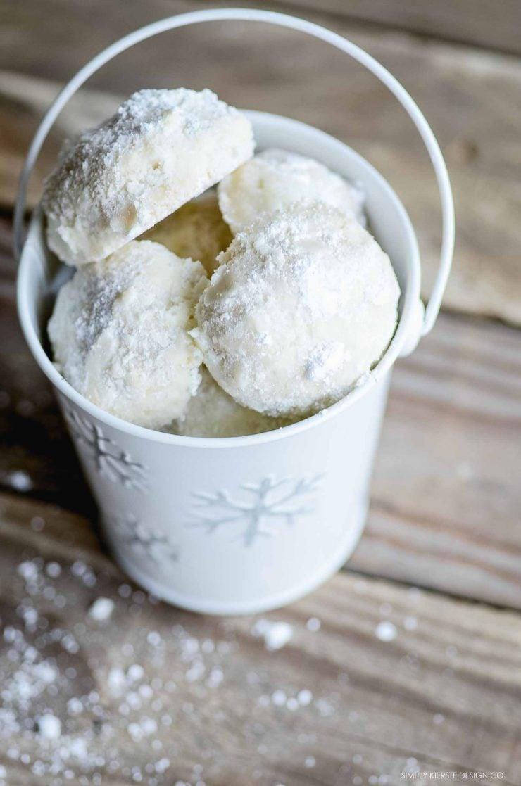 Snowball Cookies | Christmas Cookies