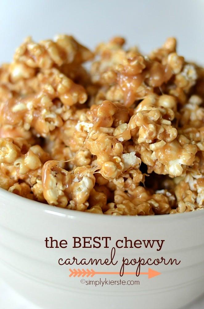 The Best Chewy Caramel Popcorn | oldsaltfarm.com