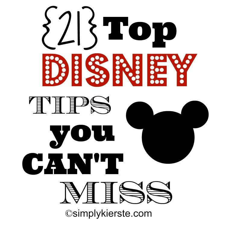 Top 21 Disney Tips | oldsaltfarm.com