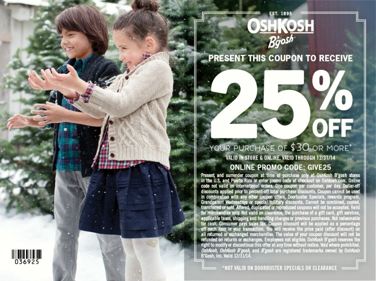Give Happy with OshKosh B'Gosh | oldsaltfarm.com