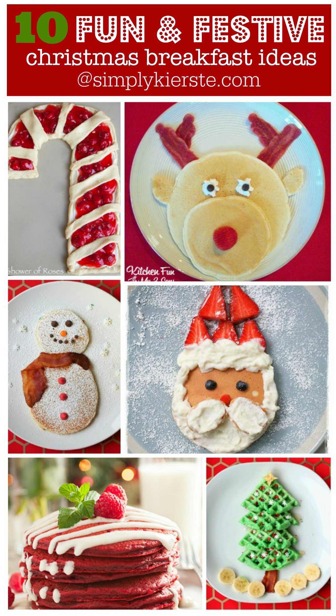 10 Fun & festive Christmas breakfast ideas
