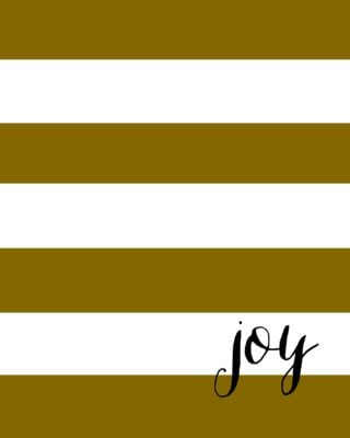 Gold Striped Gift Tags | Free Printables | simplykierste.com