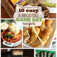 10 easy & irresistible game day recipes