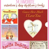 14 Favorite Valentine's Day Children's Books | oldsaltfarm.com