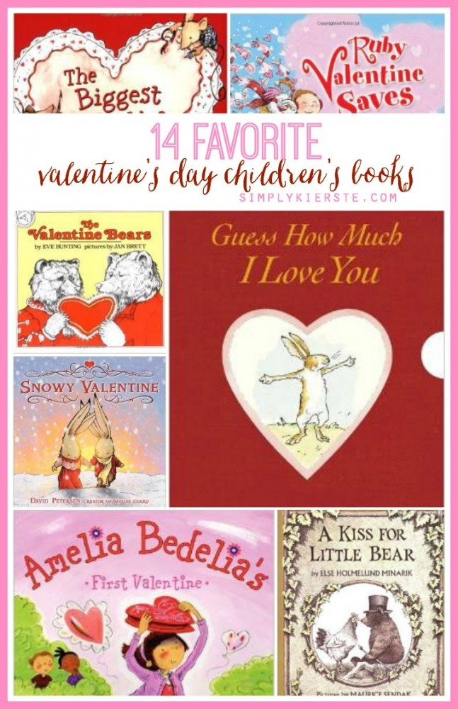14 Favorite Valentine's Day Children's Books | simplykierste.com