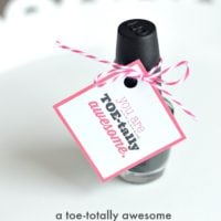 A toe-tally awesome valentine