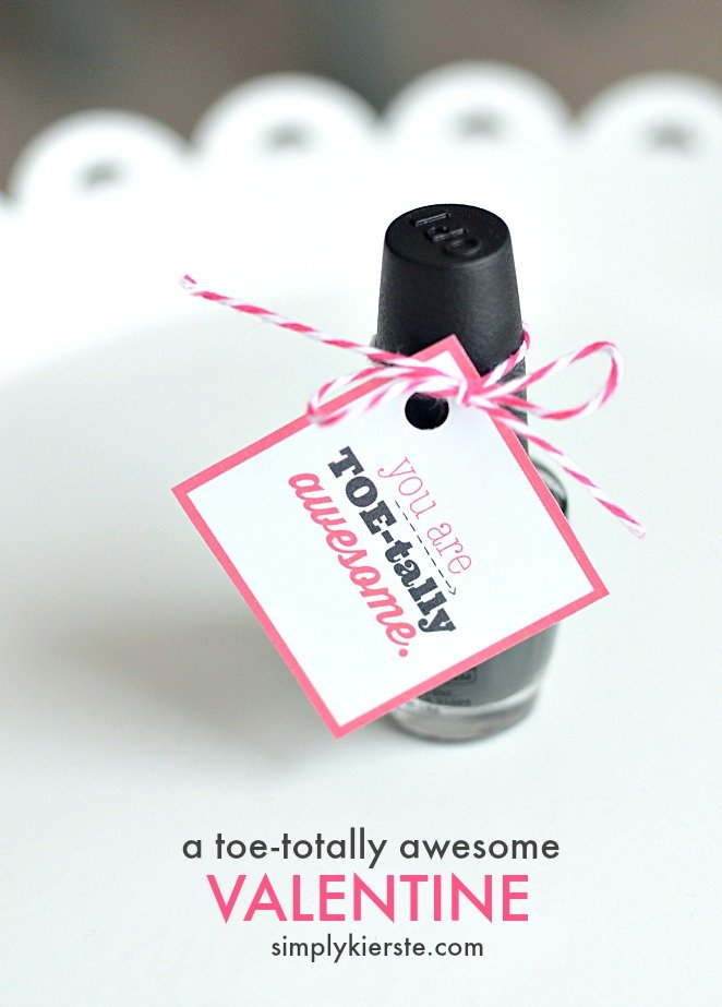 A toe-tally awesome valentine | simplykierste.com