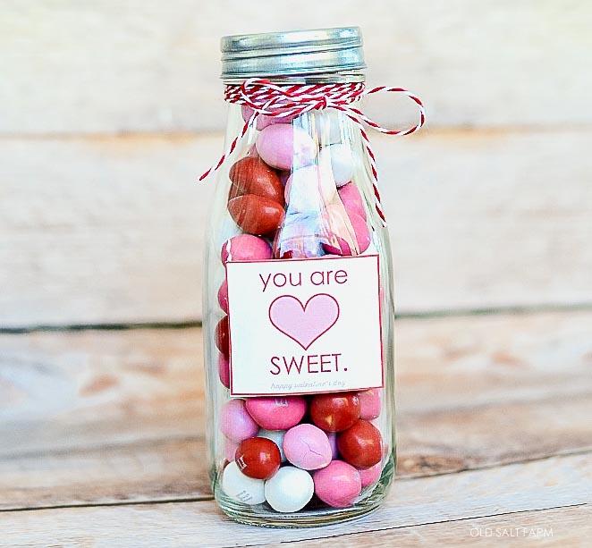 You are Sweet Valentine Treat Jar