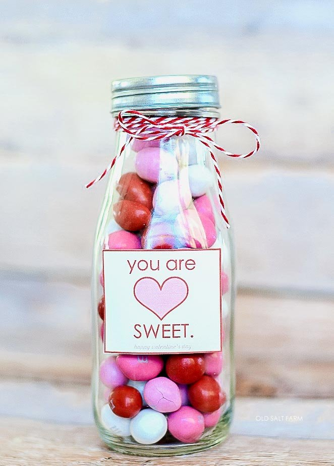 You Are Sweet Valentine's Day Treat Jar