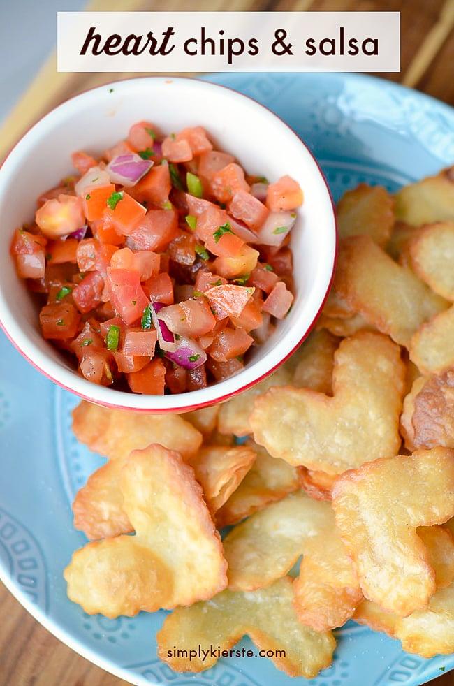 Heart Chips & Salsa