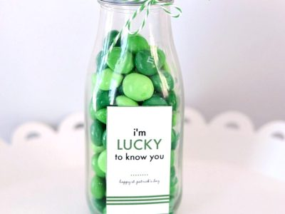 Lucky to know you | St. Patrick's Day free printable | simplykierste.com