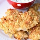 Famous 3-ingredient Potato Chip Chicken | simplykierste.com