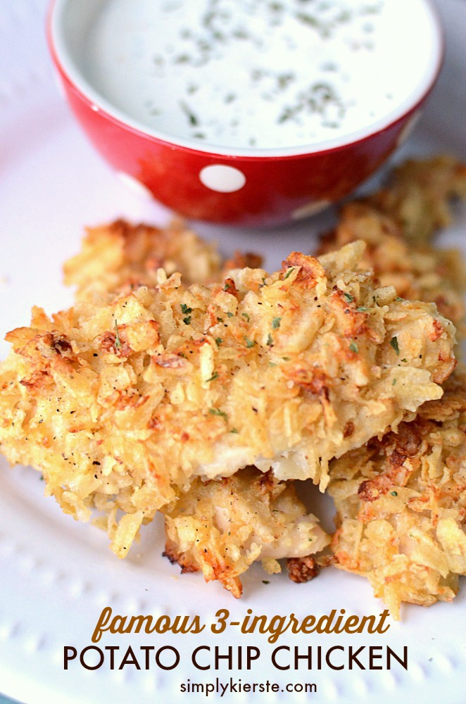Famous 3-ingredient Potato Chip Chicken   oldsaltfarm.com