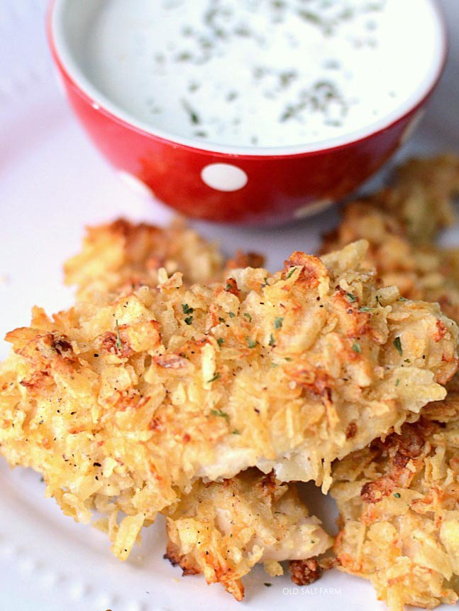Potato Chip Chicken Recipe