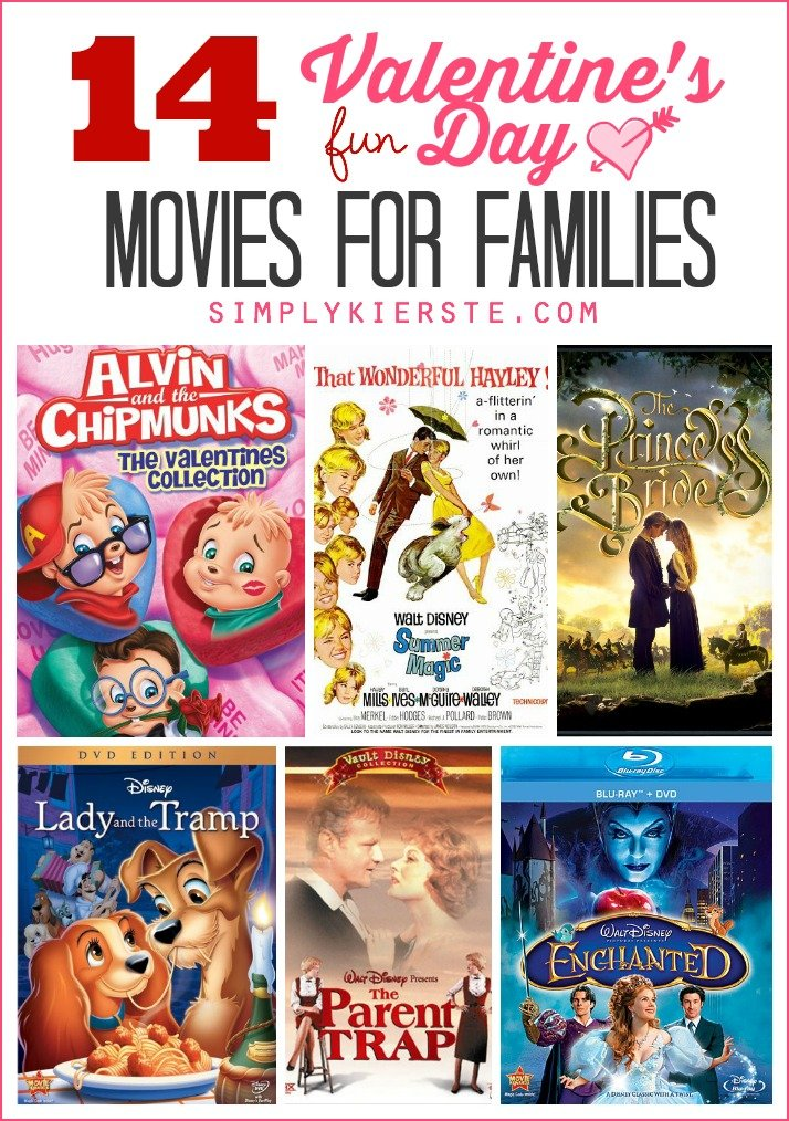 14 Fun Valentine's Day Movies for Families | simplykierste.com