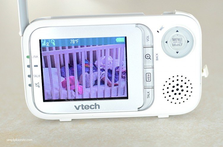 V-Tech Safe & Sound Monitor | simplykierste.com