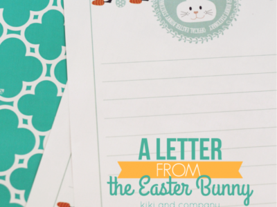 A Letter from the Easter Bunny | Official Easter Bunny Stationary | simplykierste.com