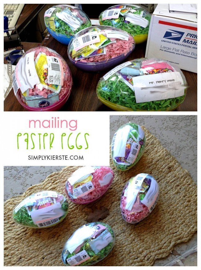 Mailing Easter Eggs...an Easter Surprise! | simplykierste.com