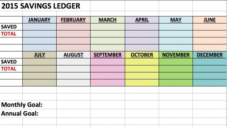 DIY Finance Ledger | free printable | simplykierste.com