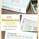 DIY FInances Ledger | free printables | simplykierste.com
