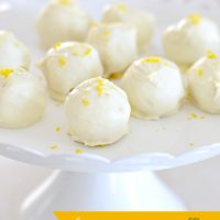 Lemon Oreo Truffles