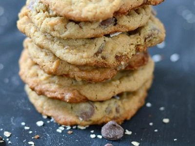 Peanut Butter Oatmeal Chocolate Chip Cookies | simplykierste.com