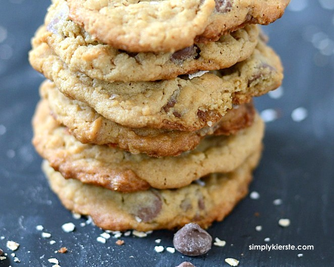 Oatmeal Peanut Butter Chocolate Chip Cookies   oldsaltfarm.com
