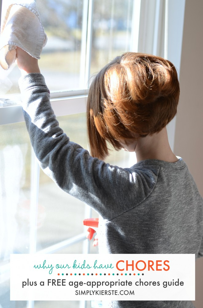 Why our kids have chores + free printable chore guide   oldsaltfarm.com