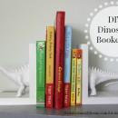 DIY Dinosaur Bookends | simplykierste.com